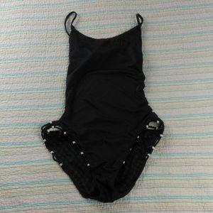 Victoria's Secret L Black One Piece Swimsuit